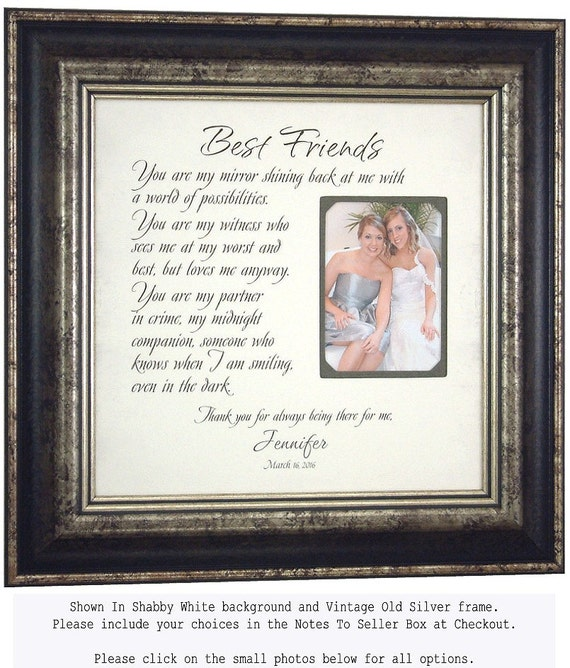 Best Friend Thank You Gift Sister Personalized Gift Maid Of