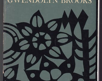 Gwendolyn Brooks: Selected Poems. 1963 Harper & Row Paperback In  Good Used Condition.