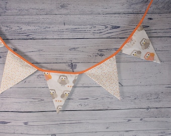 Garland pennants owls collection
