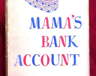 Mama's Bank Account Kathryn Forbes 1943 Book