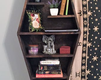 Coffin Wall Shelf
