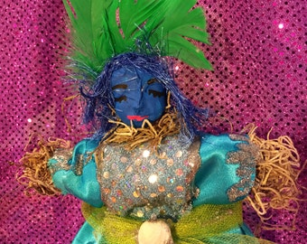LaSiren New Orleans Voodoo Veve Altar Doll