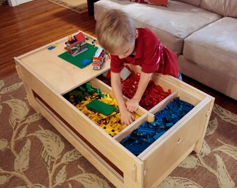 Klevr Lego Storage Table with Shelf