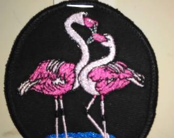 Flamingo Patch