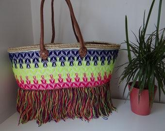 Basket original zigzag jump - made hand-