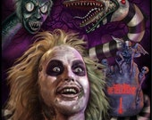 Beetlejuice - A5 Size Gre...
