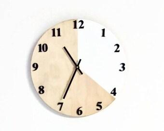 Wall Clocks, Modern Wall Art,  Housewares, Home and Living, Unique Wall Clock
