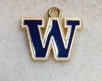 Wahsington Huskie College Charm