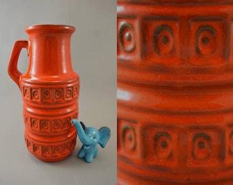 Vintage vase / Scheurich / 429 26 / Decor Tundra   West Germany   WGP   60s