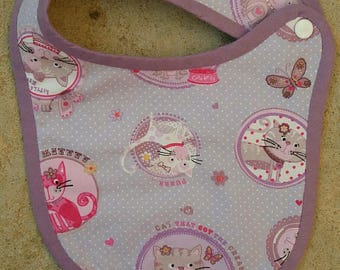 Bib birth Terry cats collection