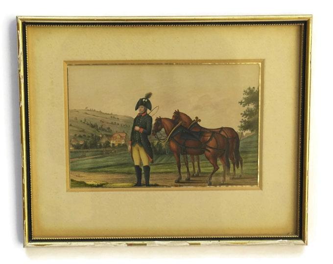 Antique Equestrian & Military Art.
