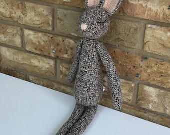Amigurumi crochet rabbit pattern uk terminology