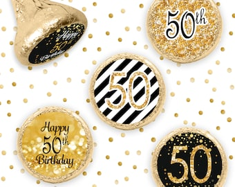 Happy 50th Birthday Party Decorations 50th Birthday Gold