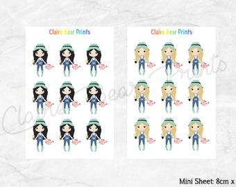 GARDEN GIRLS Planner Stickers (4 options)