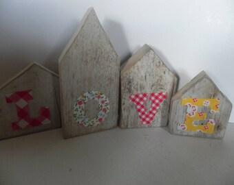 """Four houses Driftwood """"Scandinavian spirit & LOVE"""""""