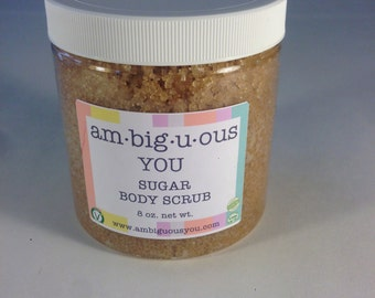 Sugar Body Scrub - 8 oz.