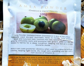 Amla Powder Treatment For Hair, Face and Body 100g