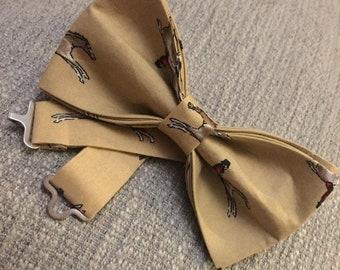 Handmade Gallop Bow Tie