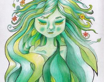 Leaf Princess