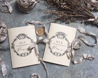Wedding Vow Booklets, Wedding Vow Books, His and Her Wedding Vow Books, Our Wedding Vows, Wedding Vows, Vow Cards, Vows, Wedding Vows, Vow