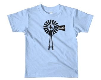 Any Way the Wind Blows Short sleeve toddler t-shirt