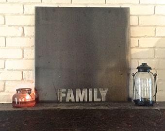 Metal Magnet Board. Housewarming Gift. Wedding Gift.