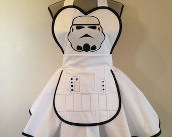 Stormtrooper - Star wars - Star wars apron - cosplay apron - aprons