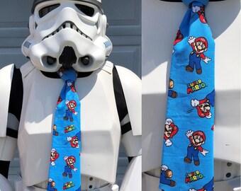 Mario Super Mario Novelty Necktie - Color Nintendo Super Mario Tie