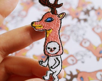 "Patch, Artist Collaboration with Takanori Ishizuka, edition 200, ""Deer"""