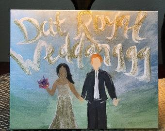 Dat Royal Weddanggg