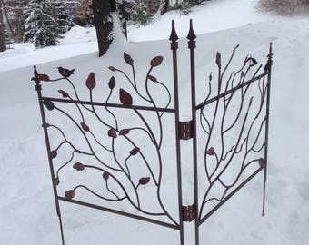Decorative, Sturdy Corner Gates and Fence Panels.