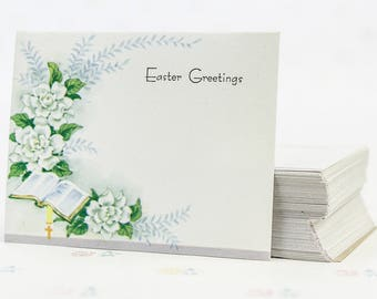 Vintage Easter Place Cards, Easter Cards, Easter Gift Tags, Easter Florist Cards, Easter Decorations, Floral Cards, Vintage Place Card Lot