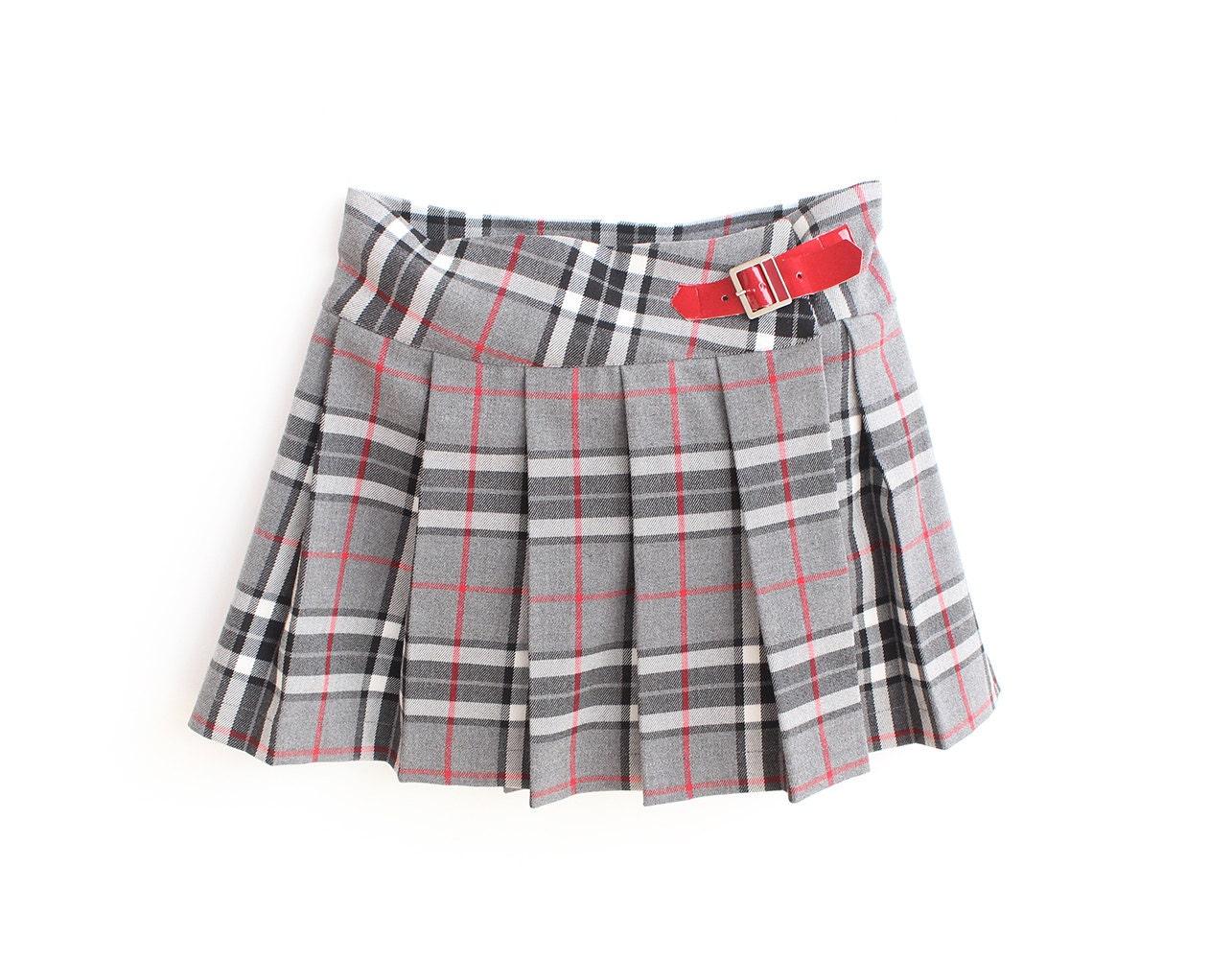 BONNIE WEE Kilt Girl Skirt pattern Pdf sewing Tartan or ANY
