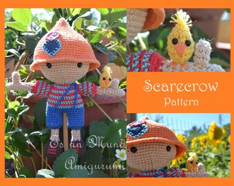 Scarecrow Amigurumi Pattern