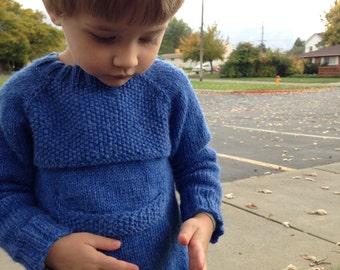 Belly Pocket Pullover - PDF Pattern