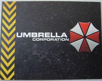 Resident Evil Postcard