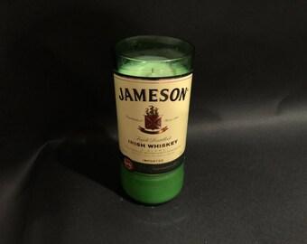 Jameson Candle 750ML/Jameson Irish Whiskey Bottle Soy Candle. 750ML/Made To Order/Jameson Candle/Gifts/Decor
