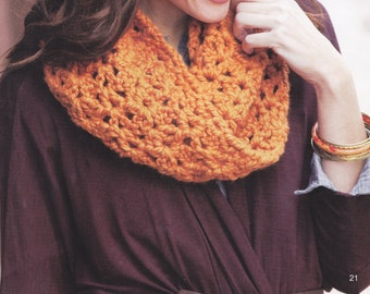 QUICK and EASY TWIST cowl