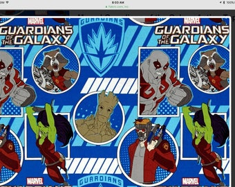 Guardians of the Galaxy twin size