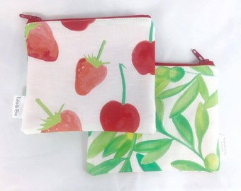 Very Berry coin purse