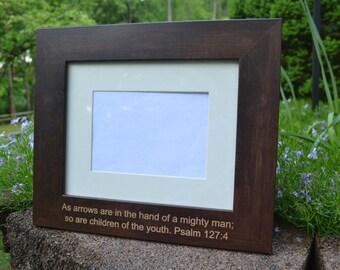 Psalm 127:4 Arrows of Faith Frame