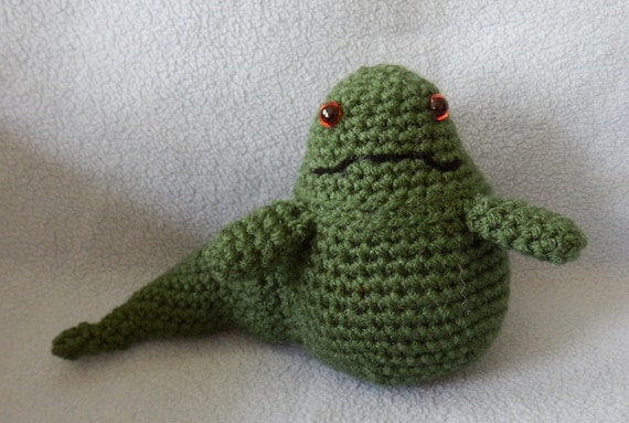 Amigurumi Star Wars Patterns : Pdf file crochet pattern star wars jabba the hut amigurumi doll