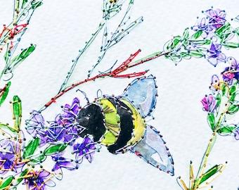 Bumble Bee - Print
