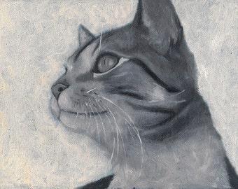 Gato Gicleé Print