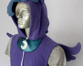 Princess Luna Pony Vest, Costume, Hoodie, Vest, Jacket, Hand-made
