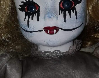 One-of-kind Vampire doll