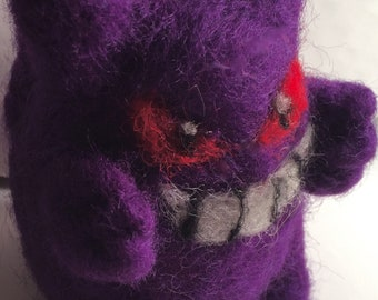 Gengar Needle Felt Plush- Pokemon