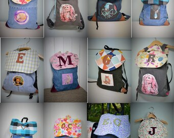 TO ORDER! Small backpack, bag for daycare