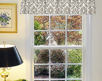 Farmhouse Curtain Panels, Rustic Window Curtains, Rustic Valance, Country Curtain Panels, Made to Order Window Valance, Kitchen Farmhouse