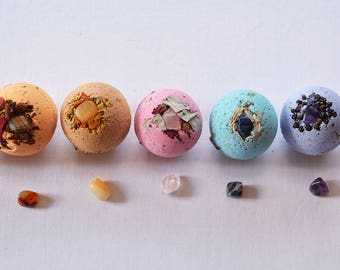 Crystal Chakra Bath Bombs!